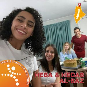 Work & Travel Cosmo Jordan Heba & Hedab